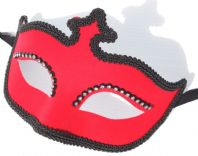 Red Velour Mask